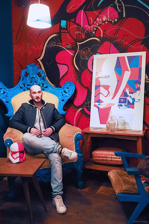 Fabien Gilbert at Le Pavillon des Canaux