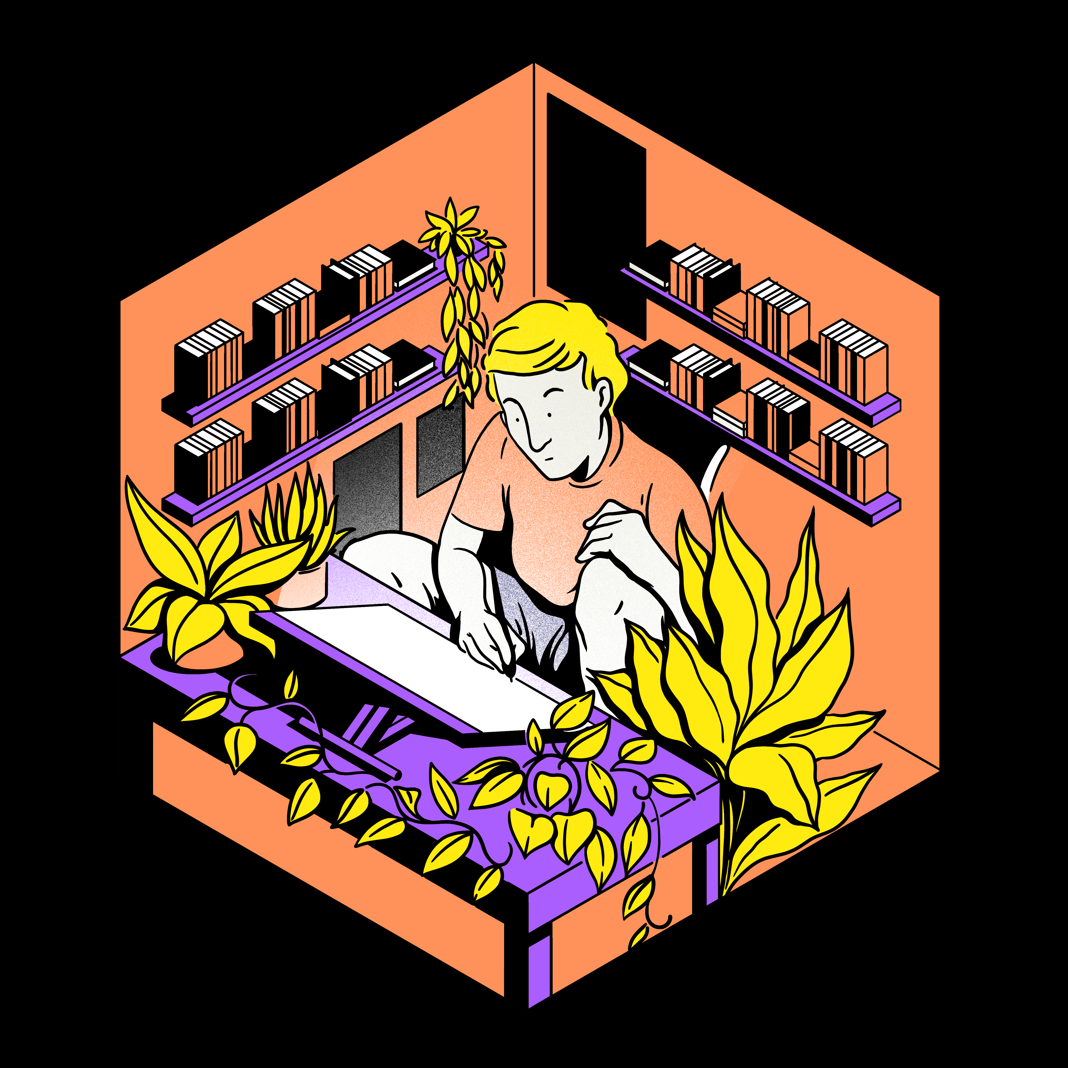artistique_gustavo_magalhaes_covid19_home_quaratine_home_office_drawing_table_small_plants.png